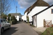 King's Nympton: the village