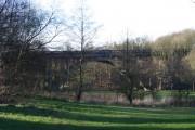 Queen's Park bridge viewed from Queen's Park