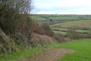 View near Bagton