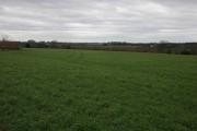 Farmland to the west of Aston Farm, Cherington