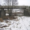 Footbridge taking Speyside Way over old railway bridge