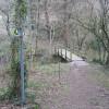 Footbridge over Nant-y-Fflint