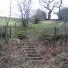 Steps and Stile above Nant-y-Fflint