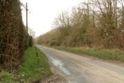 Hall Road, looking towards Bedingfield