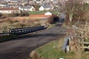 Road over the A76