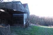 Farm buildings by Mere's Lane