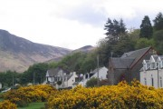 Lochranza Village from the Shoreline