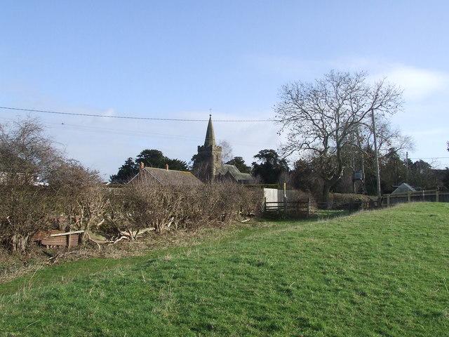 Hedge and Fenny Drayton Church
