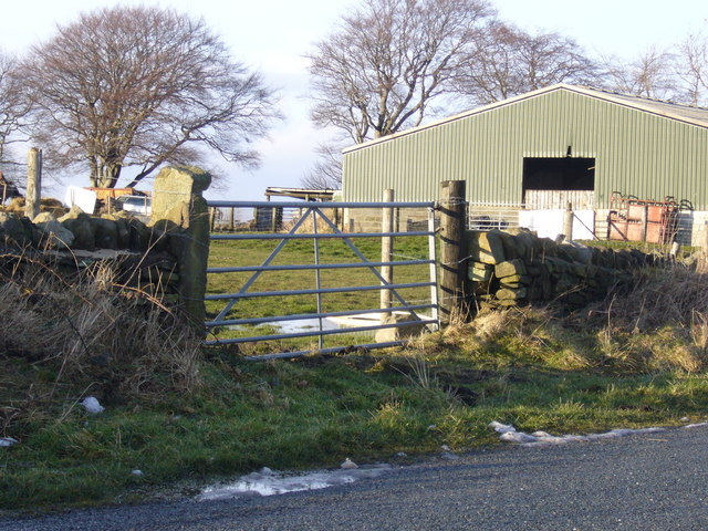 Lane End Farm, Pontop Pike Lane