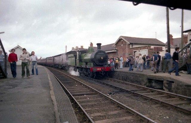 Preserved Steam at Castlerock Station