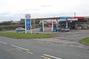 Filling station at Helmington Row