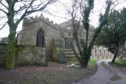 Parish Church of St Mary - Sutton-Cum-Duckmanton (Rear View)