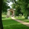 End view of Palladian Bridge, Stowe Landscape Gardens
