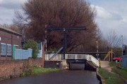 Ivy House Road lift bridge, Hanley