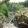 The gorge on the Tees below High Force