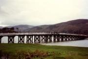 Toll bridge over the Mawddach at Penmaenpool