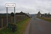 Approaching Dallas, Morayshire