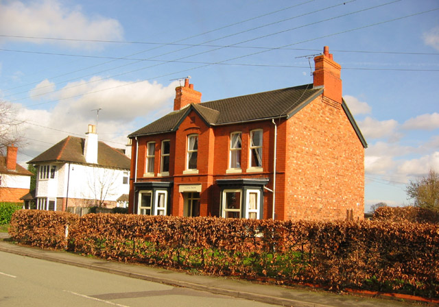 Victorian villa, Wistaston Road, Willaston