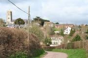Colebrooke: towards the village