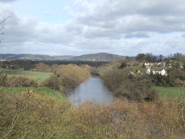 River Wye by Breinton Common