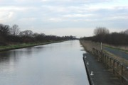 New Junction Canal looking from Kirk lane Bridge to Sykehouse Road Bridge