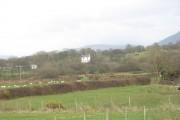 Farmland east of Pont Aberdesach