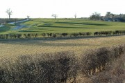 Pre enclosure fields at Garton on the Wolds