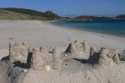 Sandcastle on Great Bay, St Martins, Isles of Scilly