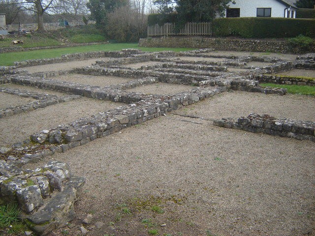 Foundations of Roman buildings, Caerwent