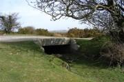Bridge over Plymouth Leat