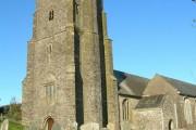 Parish church of St Michael. Blackawton.