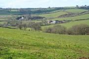 Cheriton Fitzpaine: near Redyeates Farm