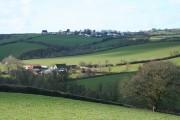 Cheriton Fitzpaine: towards Leys Farm