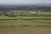 Farmland around Upper Wintercott