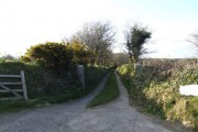 Farm track near Viscar