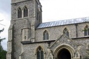 St Mary, Therfield, Herts