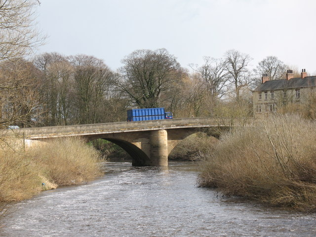 The bridge at Boroughbridge