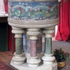 St Peter, Ayot St Peter, Herts - Font