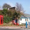 Icons: Phone Box, Anchor, Palm Tree, Molly Malone's