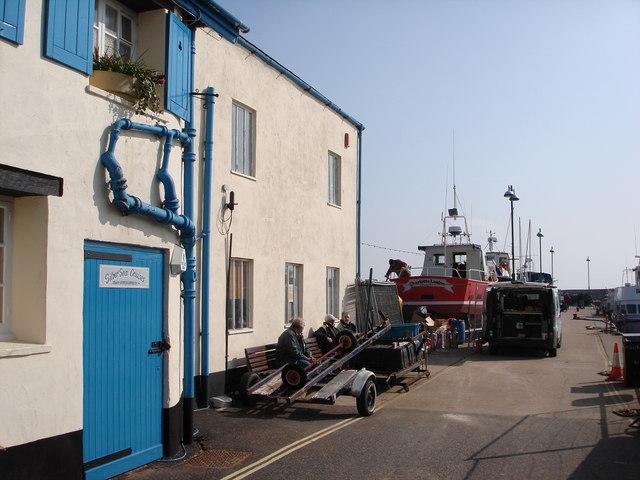 Paignton Harbour, North side