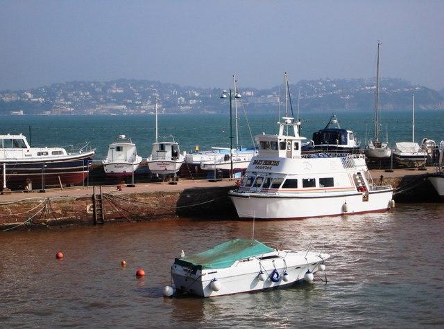 Dart Princess, moored at Paignton Harbour