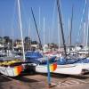 Sailing boats, Paignton harbour