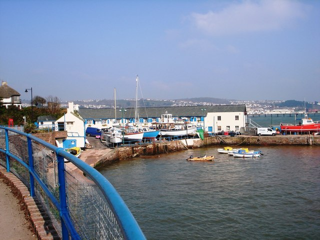 View of Buildings at Paignton harbour from the south side