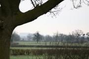 A view across fields near to Hurst Farm.