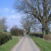 Minor road, between Millhalf and Woods Eaves