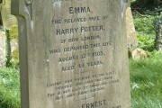 Harry Potters Wife's Grave