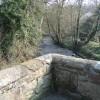 River Alyn/Afon Alun from Caergwrle's Packhorse Bridge