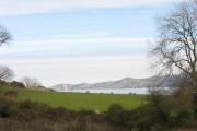 Farmland below Penmon Priory