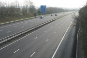 M4 Motorway, East of Junction 33.