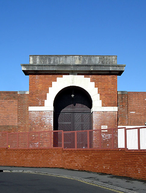 Old Gate at Horfield Prison